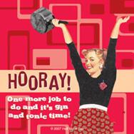 Underlägg Retro: Hooray!