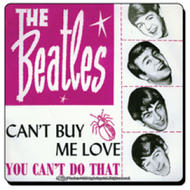 Underlägg The Beatles. Can't by me love