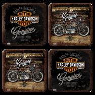 Underlägg: Harley.Davidson 1. 4st