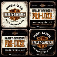 Underlägg: Harley.Davidson 2. 4st
